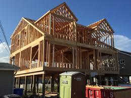 david j festa carpentry llc house framing on pile foundation