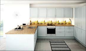 plan de travail bois cuisine cuisine blanche plan de travail bois cuisine blanc avec plan travail
