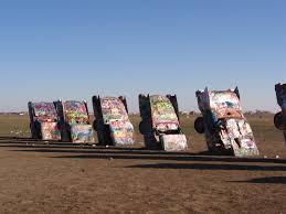 cadillac ranch connecticut the automobile and tucamcari tonight also some