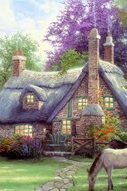 wallpaper cute house cute house para bordar pinterest house paintings and acrylic