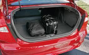 2013 honda accord trunk space 2010 ford fusion vs 2009 honda accord comparison motor trend