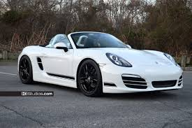 white porsche boxster ki studios simple side stripe kit 001 for porsche 981 boxster