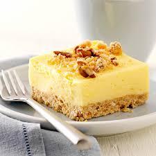 fluffy lemon squares recipe taste of home