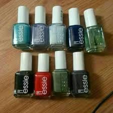 57 off essie other set of 9 essie nail polishes from tiffany u0027s