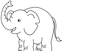 how to draw elephant for kids learn to draw draw for kids