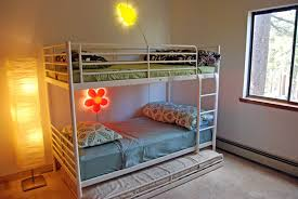 Bunk Bed With Slide Out Bed Bunk Bed With 2 Beds And A Third Pull Out Bed For Or