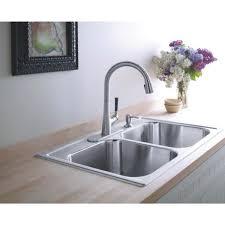 kohler kitchen sink faucet kohler kitchen sink soap dispenser chrison bellina