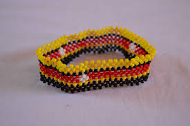 Uganda Flag Colours Uganda Flag Bracelet Maasai Beaded Bracelets Flag Of