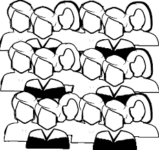crowd of people coloring page wecoloringpage