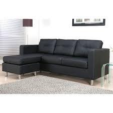 canapé d angle noir simili cuir canape d angle simili maison design wiblia com