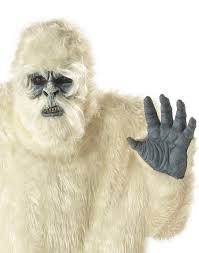 abominable snowman costume plus size abominable snowman yeti costume by california