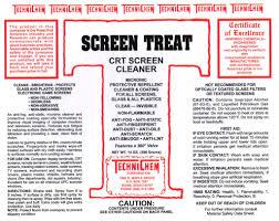 screen treat crt u0026 anti fog cleaner u2013 technichem corporation