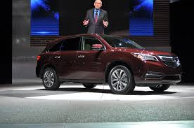 mdx 2014 vs lexus rx 350 2014 acura mdx revealed goes on sale this summer