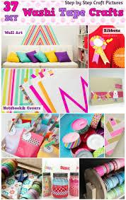 diy washi tape craft ideas 37 washi tape organizer and arts