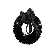 Decorative Garlands Home Halloween Wreaths U0026 Garlands Outdoor Halloween Decorations The