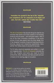 the art of innovation lessons in creativity from ideo america u0027s