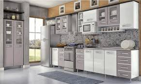 Kitchen Wall Ceramic Tile - built in oven cabinets wood hanging countertop white countertop