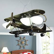 boys room ceiling light cool 4 light airplane kids room ceiling light wrought iron
