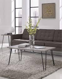 altra owen retro coffee table 20 best retro oak coffee tables