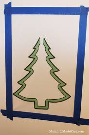 fridge christmas tree craft for toddlers mom life made easy