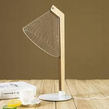 bureau decor 3d le de table acrylique led table lumière veilleuse bureau décor