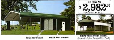 Small Car Ports Texas Steel Carports And Metal Sheds Online