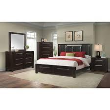 King Platform Bed Set Lydia Platform Storage Bed Bedroom Set Assorted Sizes Sam U0027s Club