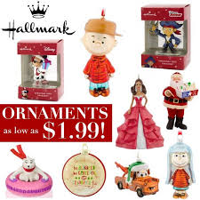 hallmark ornaments clearance sale as low as 1 99