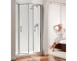 Folding Shower Door Premier Tri Fold Shower Door For Recess Folding Shower Door