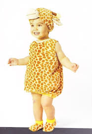 giraffe infant halloween costume size 0 to 6 months ebay