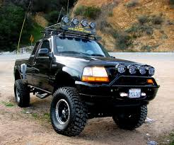 road ford ranger ford ranger lifted with lights truck ford