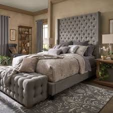 Tufted Headboard Bed Tufted Beds For Less Overstock