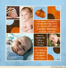 baby boy thanksgiving card much blessed family newborn