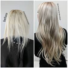 Pics Of Hair Extensions by Hair Extensions And Hair Color Makeover Fixed Thin Damaged And