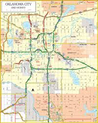 okc zip code map map collection mappery