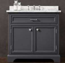 Dark Gray Bathroom Vanity by Dior 66