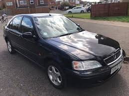 honda cars 2000 honda civic 1 4i sport x reg 2000 black manual 4 doors 2x