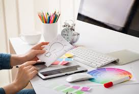 home design ideas graphic design desk professional creative desktop and design graphic designer desk idea