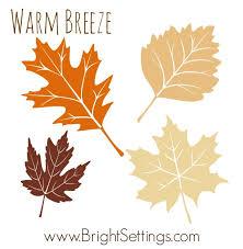 5 autumn color palettes bright ideas blog