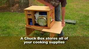 ultimate camping chuck box youtube