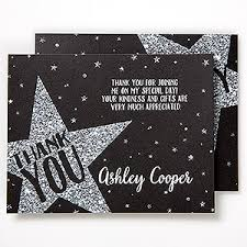 graduation thank you cards personalized graduation thank you cards shining