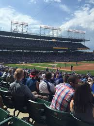 Chicago Cubs Seat Map by Wrigley Field Section 135 Home Of Chicago Cubs
