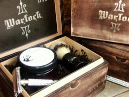 Old Fashioned Shave Kit Warlock Men U0027s Shaving Kit In Cigar Box Men U0027s Grooming And