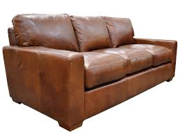 Distressed Leather Sofa Brown Furniture Home Beach Style Distressed Leather Sectional Sofas