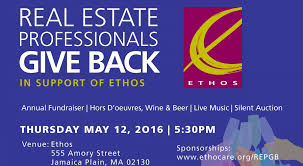 real estate professionals give back in support of ethos ethos