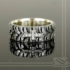 tire wedding rings wedding