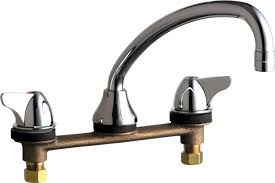 Sink Faucets For Kitchen 1888 E35abcp Manual Faucets Chicago Faucets