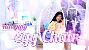 diy how to make hanging egg chair dollhouse decor doll