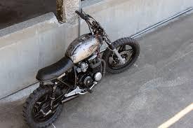 custom honda moto 7 custom honda cb650 droog moto bikermetric