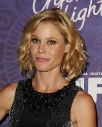 mid length wavy hairstyle by julie bowen choppin it off